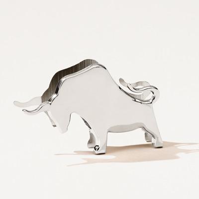 Bull Business Card Holder
