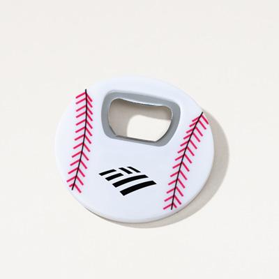Flagscape Baseball Magnetic Bottle Opener