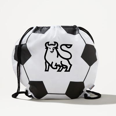 Bull Soccer Drawstring Bag