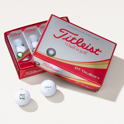 Bull Titleist® DT TruSoft™ Golf Balls - 1 Dozen