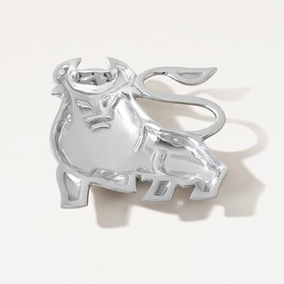 Bull Aluminum Dish