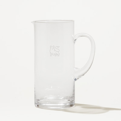 Bull Crystal Pitcher