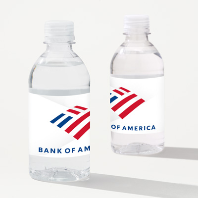 Bank of America 12-Ounce Bottled Water - 24 Pack