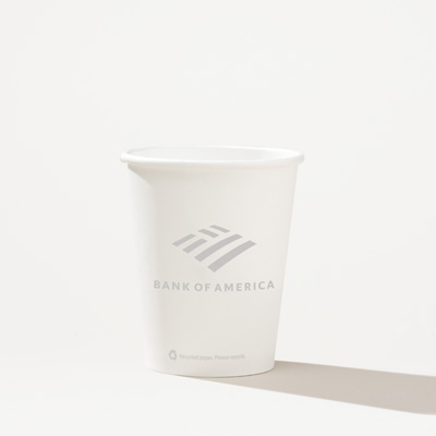 Bank of America 8-Ounce Eco Hot/Cold Cup - 50 Pack