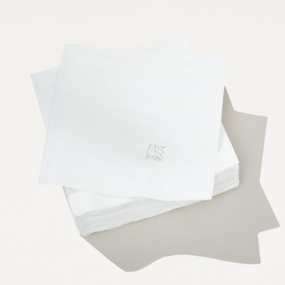 Bull Recycled Cocktail Napkin - 250 Pack