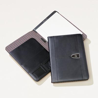 Bull Leather Padfolio