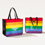 Flagscape Love Has No Labels Rainbow Tote
