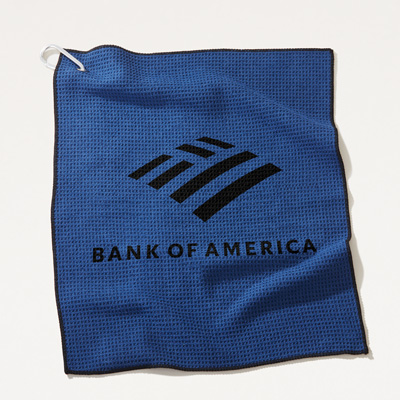 Bank of America Microfiber Golf Towel