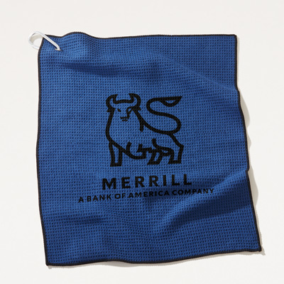 Merrill Microfiber Golf Towel