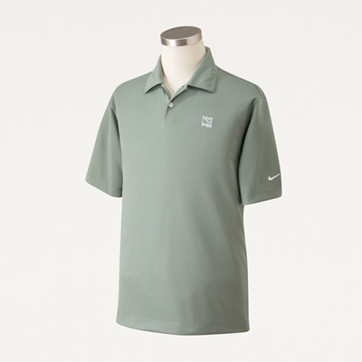 Bull Nike® Men's Dri-FIT Pebble Texture Polo