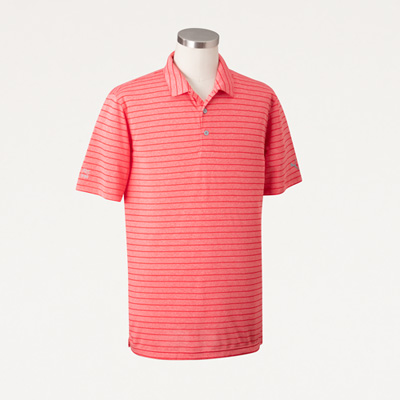 Bull Men's PUMA® Golf Rotation Stripe Polo