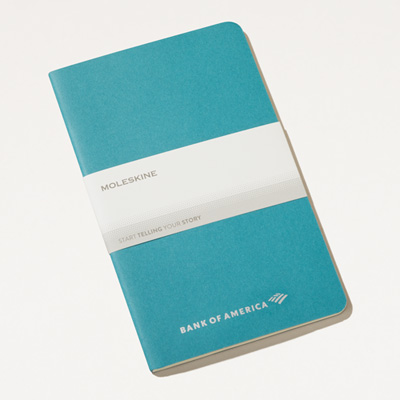 Bank of America Moleskine® 5x8.25 Cahier Notebook