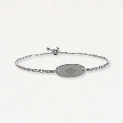 Flagscape Sterling Silver Bracelet