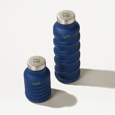 Bull 20-Ounce Collapsible Que® Water Bottle