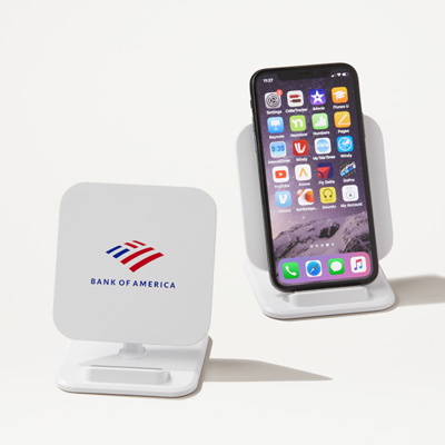Bank of America 2-in-1 Charger and Phone Stand