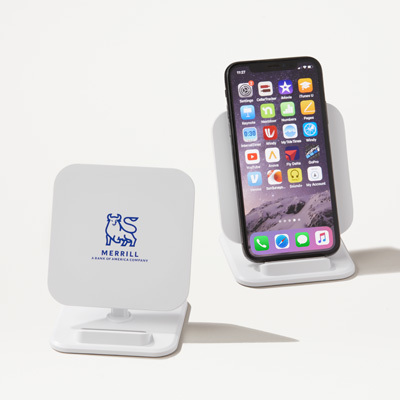 Merrill 2-in-1 Charger and Phone Stand