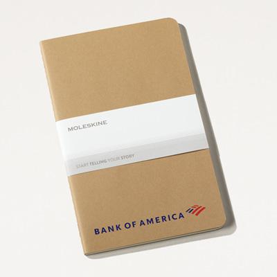 Bank of America Moleskine® Cahier Journal