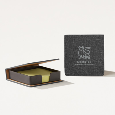 Merrill Sticky Notepad Box