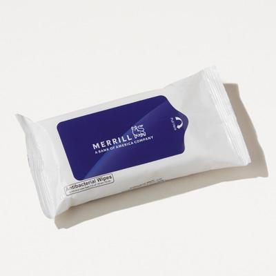 Merrill Antibacterial Wet Wipe Pack