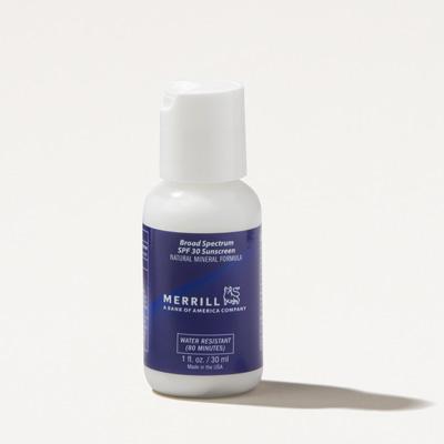 Merrill SPF30 Sunscreen