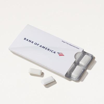 Bank of America Sugar Free Gum Pack