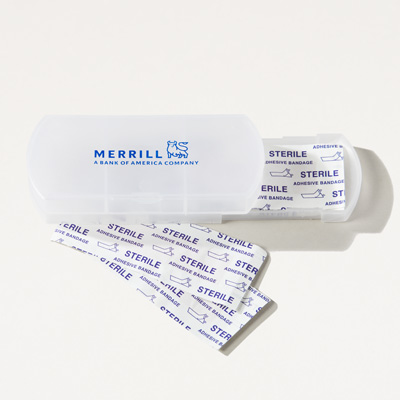 Merrill Bandage Dispenser and Pill Box