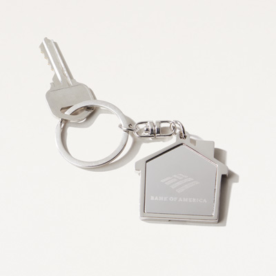 Bank of America House Key Ring
