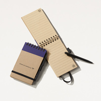 Bank of America Pocket Eco Note Jotter