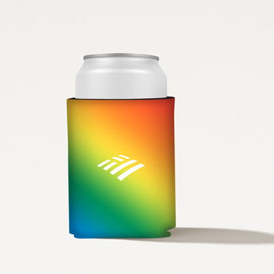 Flagscape Rainbow Can Cooler