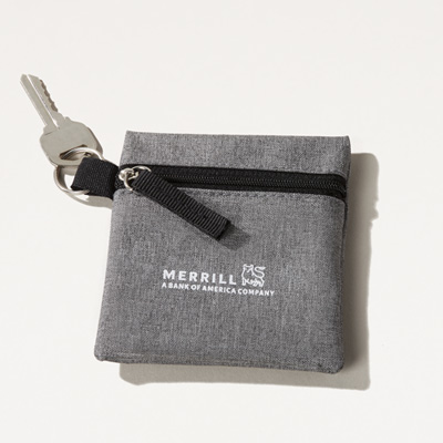 Merrill Coin and Key Pouch