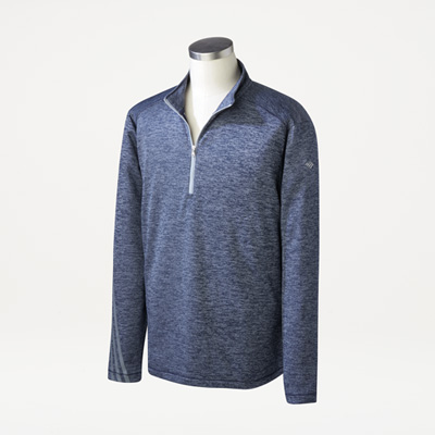 Flagscape Adidas® Men's Brushed Terry Quarter-Zip Pullover
