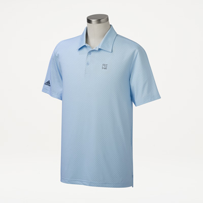 Bull Adidas® Men's Diamond Dot Polo