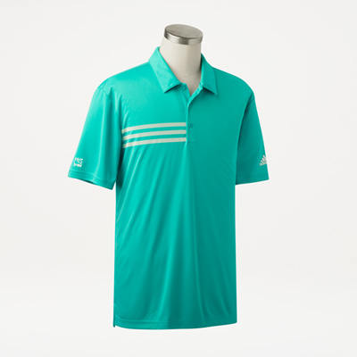 Bull Adidas® 3-Stripes Sport Polo