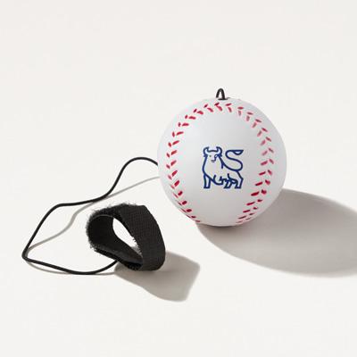 Bull Baseball Yo-Yo Bungee Squishy