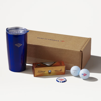 Flagscape Golf Gift Set