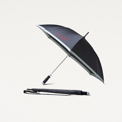 (RED) Auto Open Umbrella