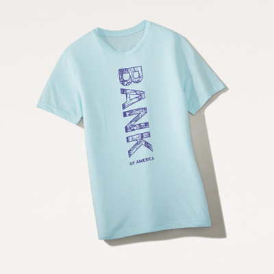 Bank of America Men's Graphic Tee