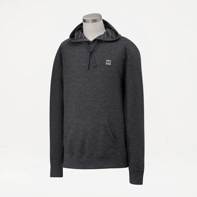 Bull Hooded Pullover Sweatshirt
