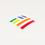 Rainbow Flagscape Laptop Decal