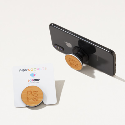 Bull Wood Popsockets® Grip