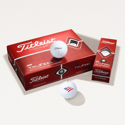 Flagscape Titleist® TruFeel™ Golf Balls - 1 Dozen