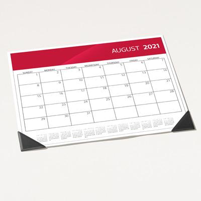2021 Desk Blotter Calendar
