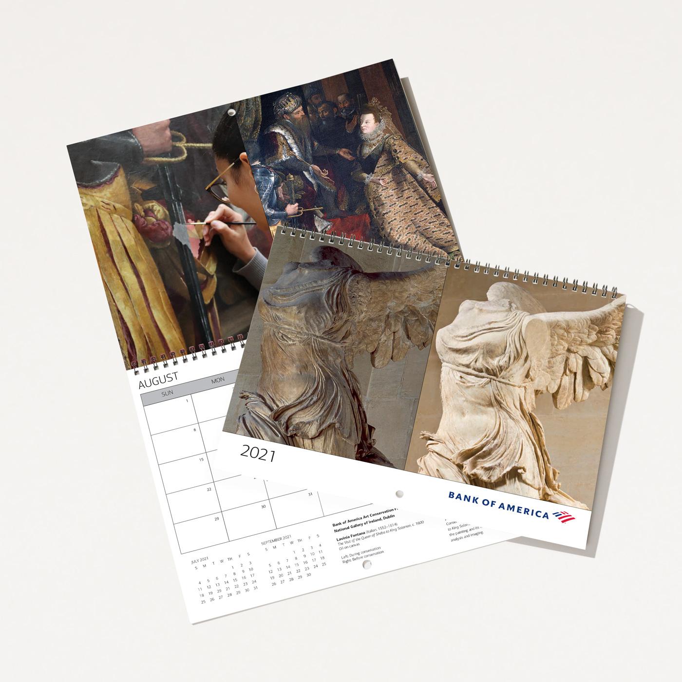 Bank of America 2021 Wall Calendar | Bank of America Store