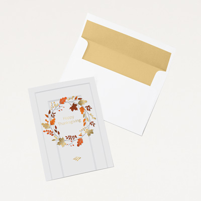 Flagscape Thanksgiving Card - 25 Pack