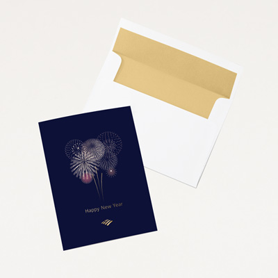 Flagscape New Year Card - 25 Pack