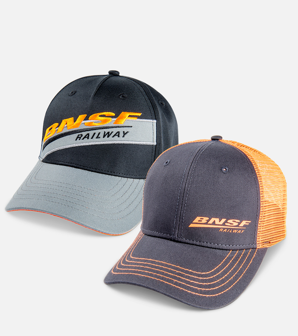 Find your BNSF headwear here
