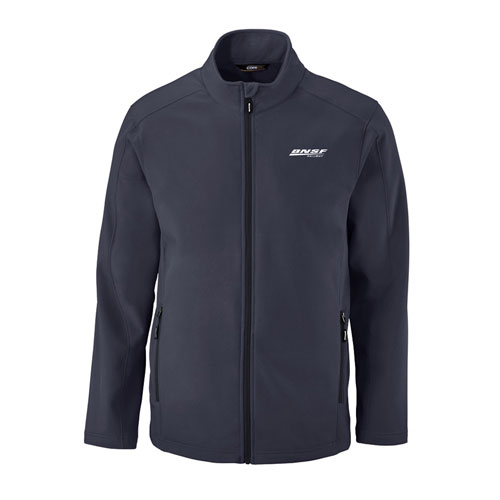 BNSF Zippered Fleece Storm Soft Shell Jacket
