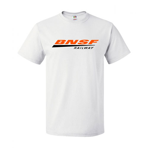 BNSF Fruit of the Loom Cotton Short-Sleeve T-shirt