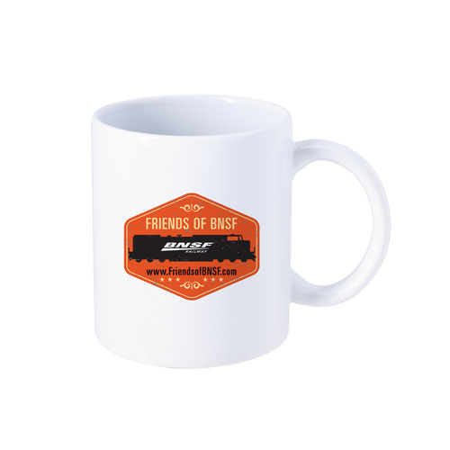 Friends of BNSF Stoneware Mug, 11 oz.
