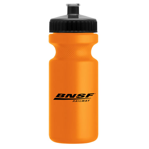BNSF Eco-Cyclist Recycled Bike Bottle, 22 oz.
